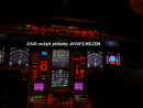 A340 flight deck picture