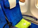 Airbus A340 passenger seat