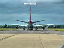 Boeing 747 plane