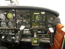 Piper PA-28 warrior cockpit picture
