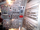 Airbus A300 flight engineer panel