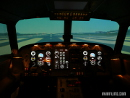 Aircraft cockpit simulator