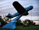 Aircraft monument