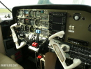 Beechcraft Duchess cockpit