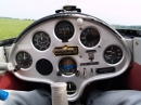 Blanik L-13 sailplane cockpit panel view