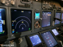 Boeing 737NG cockpit displays