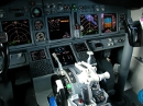 Boeing 737-800 cockpit