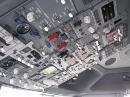 Boeing 737 overhead switches