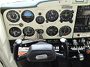 Cessna 152 airplane cockpit