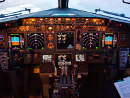 Cockpit of Boeing 737NG