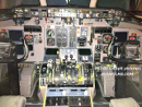 Cockpit of MD-80