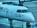 Dash 8 aircraft
