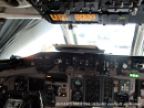 Flight deck of MD-80