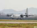 Hercules C-130 take-off photo