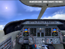 Learjet cockpit PC simulator
