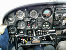 Piper cherokee plane cockpit