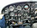 Piper cherokee plane cockpit