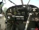 Stinson L-5 cockpit