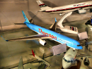 Thomson Boeing 767 toy model plane